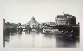 Basilica of St. Peter and the Castel Sant'Angelo, Rome