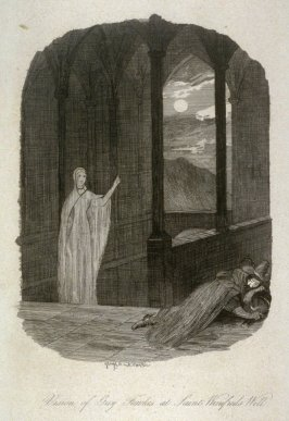 Vision of Guy Fawkes at St. Winifred's Well