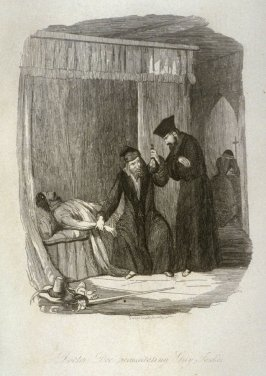 Doctor Dee Rescuscitating Guy Fawkes