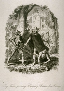 Guy Fawkes Protecting Humphrey Chetham from Catesby