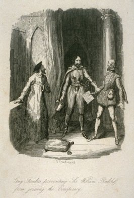 Guy Fawkes Preventing Sir William Radcliffe from joining the Conspiracy