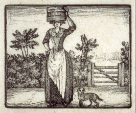 The washerwoman and her little dog