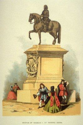 Statue Of Charles I At Charing Cross.