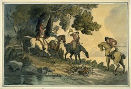 In at the death; The Fox Hunt.