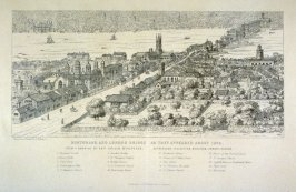 Southwark and London Bridge as they appeared about 1546