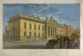 A View of the East-India House, Leadenhall Street, London