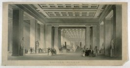 British Museum: Grand Central and Egyptian Saloon