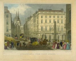 Ludgate Hill, from Fleet Street
