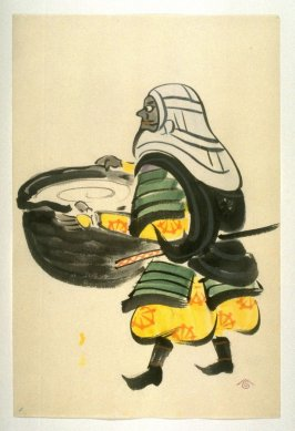 1. Benkei with a cauldren