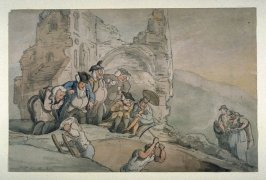 (In the manner of Thomas Rowlandson)