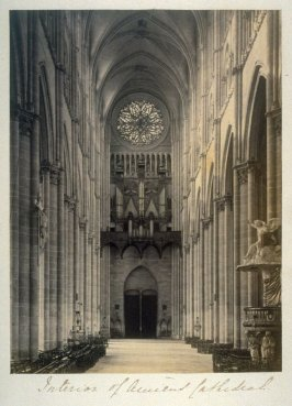 Interior of Ancient Cathedral (Amiens)