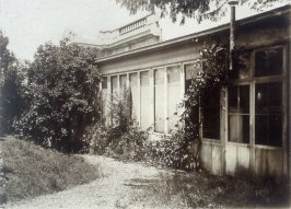 The Exterior of Rodin's Studio at Meudon