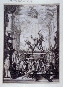 The Martyrdom of the Apostles (one of 9 from a series of16)