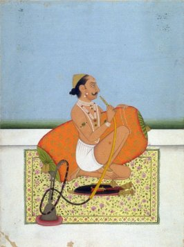 Rajah Sahuji of the Sisodya Clan , Who Ruled over Sattara in the Deccan