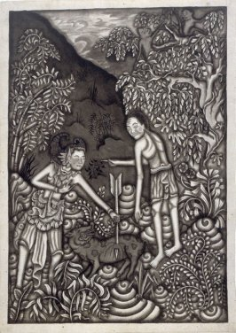 Untitled (couple in a forest)