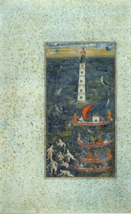 Marine Scene from an unidentified manuscript