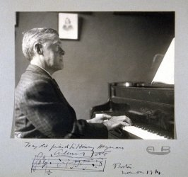 Leopold Godowsky, composer and pianist