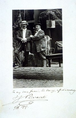 Ignacy Jan Paderewski and Sir Henry Heyman
