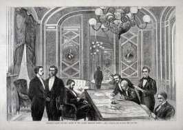 President Grant and his Cabinet,etc.-from Harper's Weekly  (March 24. 1877), p. 233