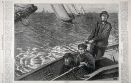 Yachting - from Harper's Weekly, (June 21, 1873), p. 525