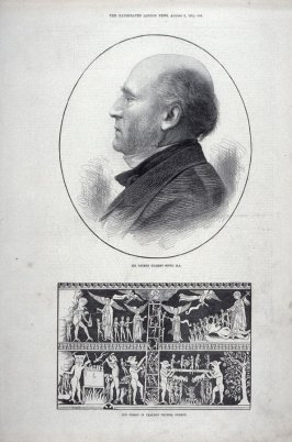 Sir George Gilbert Scott, R.A., from the Illustrated London News (3 Aug. 1872, page 102)