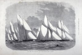 Royal Cinque Ports Yacht Club, From The Illustrated London News (6 July 1872, p. 12)