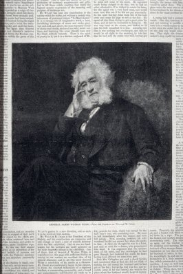 General James Watson Webb from Harper's Weekly, (April 17, 1880), pp.243 to 246 and pp. 253 to 256