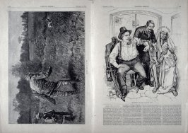 Gun Shy and Transfusion of Blood - Is it Too Late? - from Harper's Weekly,  (October 2. 1880), pp. 627 & 628, pp. 637 & 638