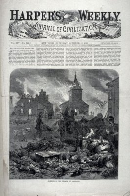 Harper's Weekly, Vol. XIV - No. 721 -  (October 22. 1870), pp. 674 through 688