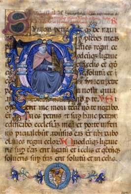 Parchment - Leaf from Missal