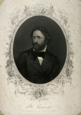 Portrait of John Charles Fremont, the Explorer of the Rocky Mountains