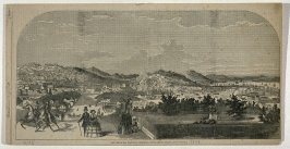 The City of San Francisco, California - From Second Street, above Folsom - From Harper's Weekly