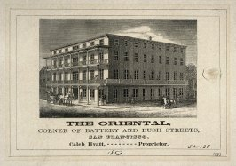 The Oriental, Corner of Battery and Bush Streets, San Francisco