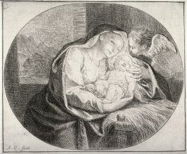 Virgin and Child with an Putto