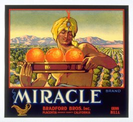 Miracle Brand, Bradford Bros. Inc., Placentia, Orange Co., California