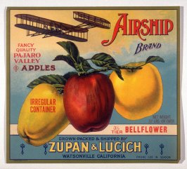 Airship Brand, Zupan & Lucich, Watsonville, California