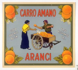 Carro Amano Aranci, Gold Buckle Assn., East Highlands, California