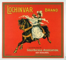 Lochinvar Brand, Gold Buckle Association, East Highlands, San Bernardino Co., California
