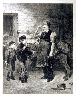 """The Broken Hoop"" - from Harper's Weekly, (August 26, 1876), pp. 696 & 697"