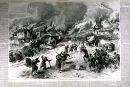 The battle of Karahasankoi-etc.-pages 824 & 825 from Harper's Weekly (20 Oct. 1877)