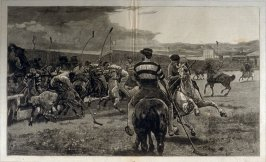 "The Game of ""Polo"" - from Harper's Weekly, (September 5. 1874), pp. 736 & 737"