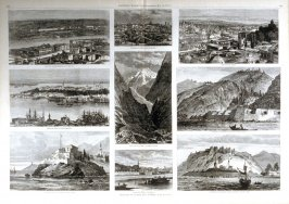 Sketches in Russia and Turkey- from Harper's Weekly,(May 19, 1877), pp. 398 & 399