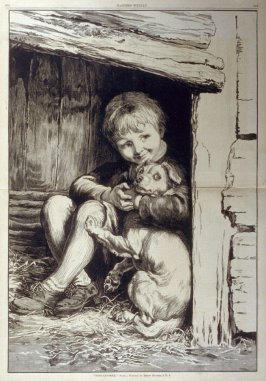 """Hide and Seek"" - from Harper's Weekly, (December 19?. 1879), pp. 972 & 973"
