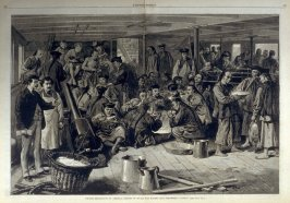 Chinese Immigration to America - from Harper's Weekly, (May 20, 1876), pp. 408-9