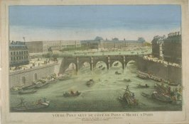 Vue d'optique of the Pont Neuf