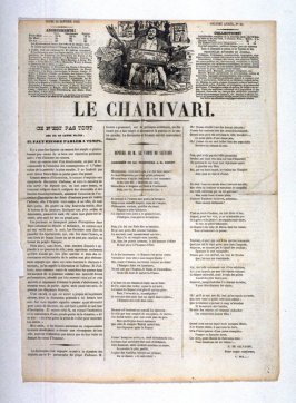 Page from 'Le Charivari', 01/20/1842