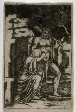 Hercules taking the Girdle of Hippolyte, Queen of the Amazons, from a series The Labors of Hercules