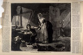 Chatterton Discovered by his Mother in the Attic, from Harper's Weekly, (19 July 1873), p. 636