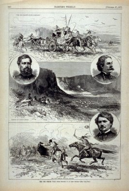 The Nez Perces War - from Harper's Weekly (October 27, 1877), p. 840