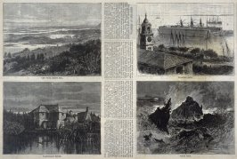 Sketches in Bermuda, from Harper's Weekly (11 October 1873), p.901